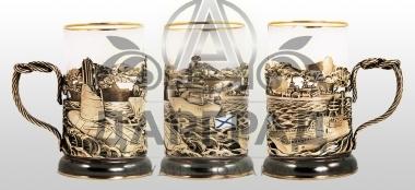 Заказать подарок моряку Подстаканник «Морской флот»