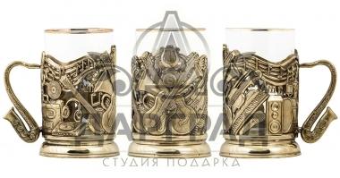 Заказать Подстаканник «Музыкант» в интернет магазине подарков Дарград