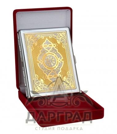 Портсигар «Орнамент» Златоуст
