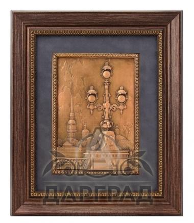 Купить эксклюзивный подарок Рельефное панно «Петропавловская крепость» в СПб
