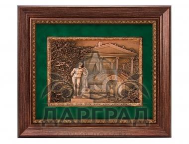 деловой подарок с видами лен области Рельефное панно «Камеронова галерея»