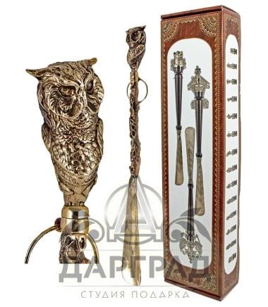 Рожок для обуви «Мудрая сова» в магазине подарков Дарград