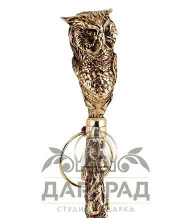 Рожок для обуви «Мудрая сова» в подарок мужчине