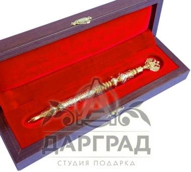 Сувенирная ручка «Герб России» (Златоуст)