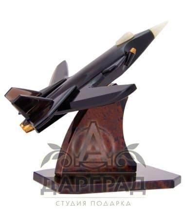 Модель «Самолет» (обсидиан)