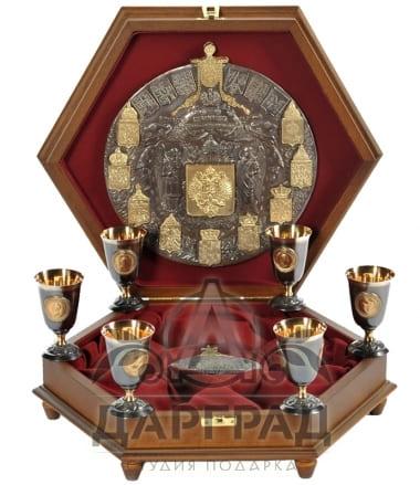 Купить Подарочный набор «Царский шестигранник» в магазине подарков Дарград Санкт-Петербург