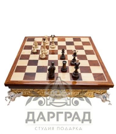 Купить подарочные шахматы Шахматная доска «Римская»