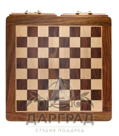 Купить Шахматная доска с двумя ящиками в подарок директору