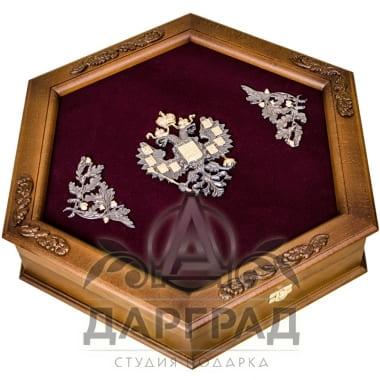 Заказать Подарочный набор «Царский шестигранник» в интернет магазине подарков с доставкой