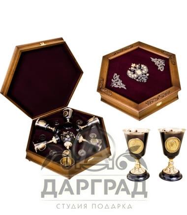 """Солидный подарок Подарочный набор """"Императорский шестигранник"""""""
