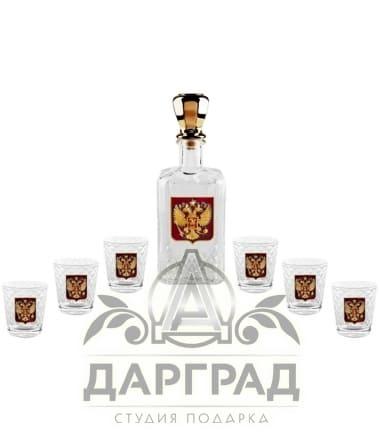 """Набор для крепких напитков """"Официальный прием"""""""