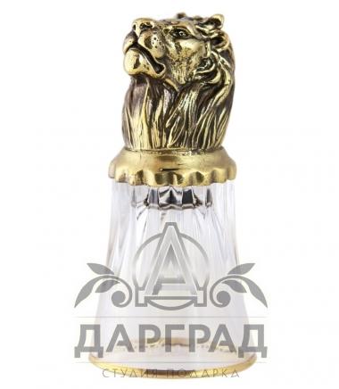 Стопка «Лев» стеклянная в магазине подарков Дарград