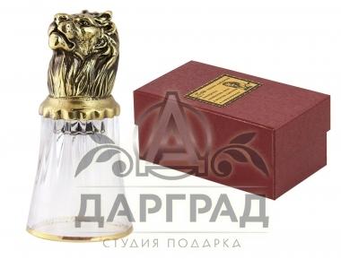 Заказать Стопка «Лев» стеклянная с доставкой по России
