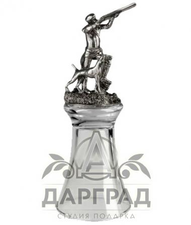 """Штрафная стопка перевертыш """"Охотник"""" (фото 1)"""