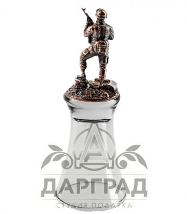 """Купить подарок военному Штрафная стопка перевертыш """"Армейская"""""""