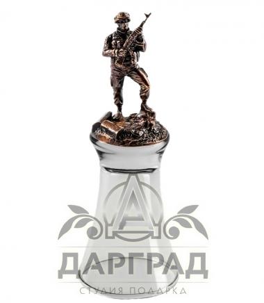 """Штрафная стопка перевертыш """"Армейская"""""""