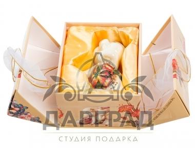 """Фигурка """"Поросенок в штанишках-2"""" (фарфор)"""