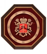 Интерьерные часы «Герб Петербурга»