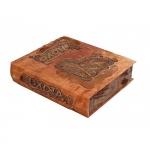 Подарочное издание с деревянными вставками «Охота»