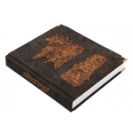 Книга «Охота» с деревянными вставками