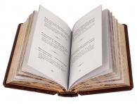 Подарочное издание в кожаном переплете «Власть»