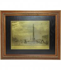 Гравюра на металле «Александрийский столп»