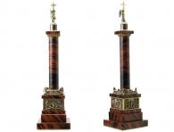 Заказать Александровская колонна (обсидиан) в интернет магазине подарков с доставкой