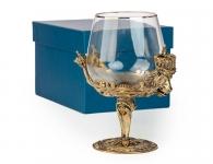 Бокал для крепких напитков «Царь зверей» в подарочной коробке