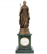 Мраморные часы с Екатериной в магазине подарков Дарград