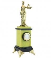Настольные часы «Фемида» в подарок судье адвокату юристу