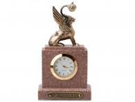 """Заказать Настольные мини-часы """"Грифон"""" (иск. гранит) в интернет магазине подарков с доставкой"""