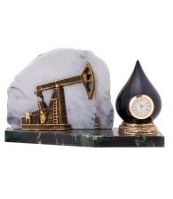 Настольные часы «Нефтяная качалка»