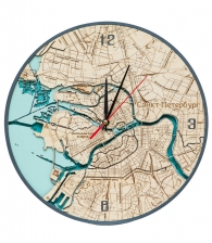 Объемные часы «Санкт-Петербург»