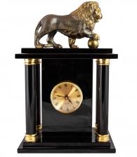Кабинетные часы «Лев с шаром»