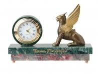"""Заказать Настольные часы """"Грифон"""" (мрамор) в интернет магазине подарков"""