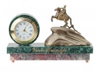"""Заказать Настольные часы """"Медный всадник"""" (мрамор) в интернет магазине подарков"""