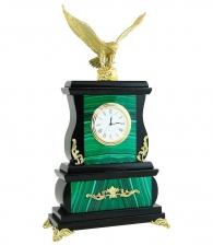 каменный часы из малахита руководителю