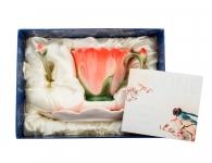 Чайная пара «Гентиана» в подарочной коробке
