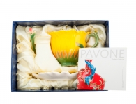 Чайная пара «Подсолнух» в подарочной упаковке