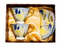 Чайный набор «Ирисы» в подарок женщине на праздник