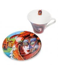 Чайная пара «Венецианские маски» вар.1