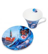 Чайная пара «Венецианские маски» вар.2