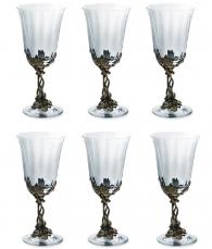 Набор бокалов для вина «Смородина» (6 шт.)