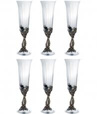 Набор бокалов для шампанского «Смородина» (6 шт.)