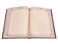Кожаный ежедневник «Узор» в магазине подарков Дарград