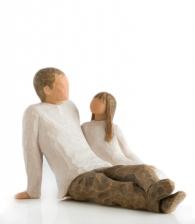 Фигурка «Отец и дочь» (Willow Tree)