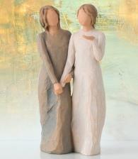 Фигурка «Моя сестра, мой друг» (Willow Tree)