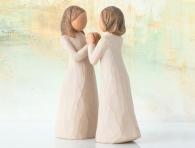 """подарок Фигурка """"Сестры по сердцу"""" (Willow Tree) подруге"""