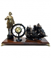 Настольные часы «Императорский флот»