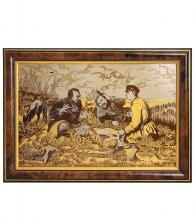Настенное панно «Охотники» (Златоуст)